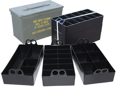MTM 50 CALIBER CAN ORGANIZER