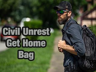 2020 Civil Unrest Get Home Bag