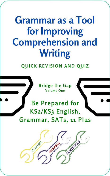 Grammar as a Tool for Improving Comprehension and Writing