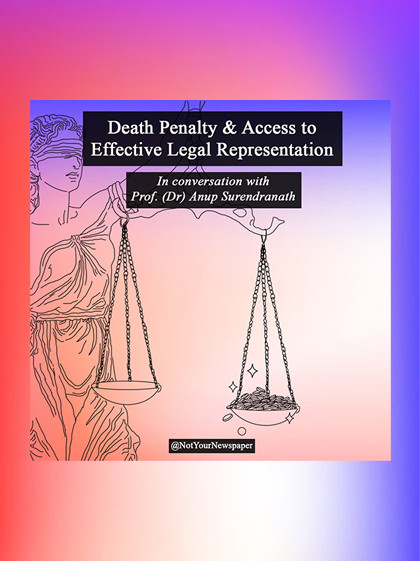 Death Penalty and Access to Legal Representation