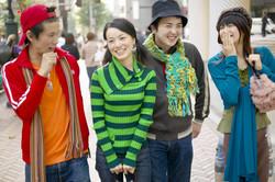 Asian Teens
