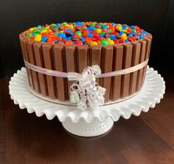 Candy bowl cake