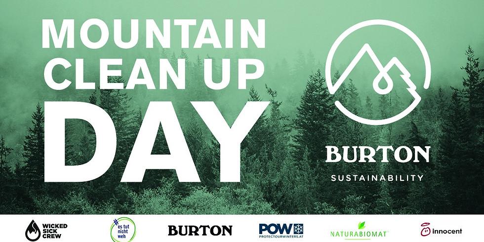 Burton Mountain Clean Up Day 2019 am Semmering