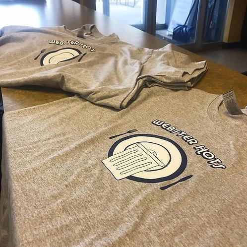Plate T-Shirt Gray