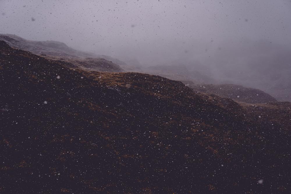 Snow At Sealy Tarns