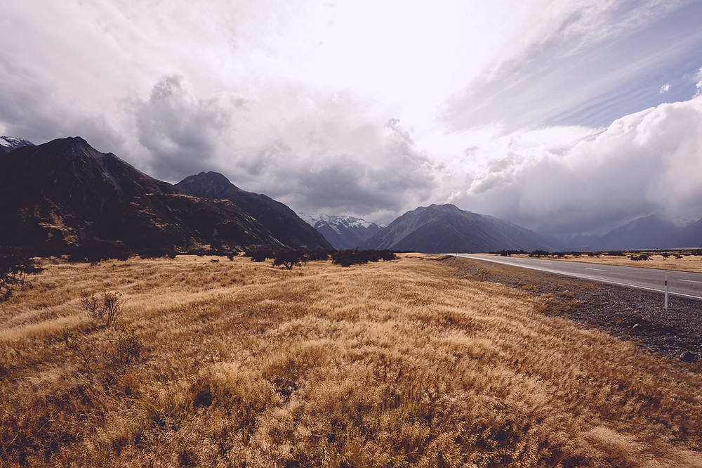 Road To Mt Cook