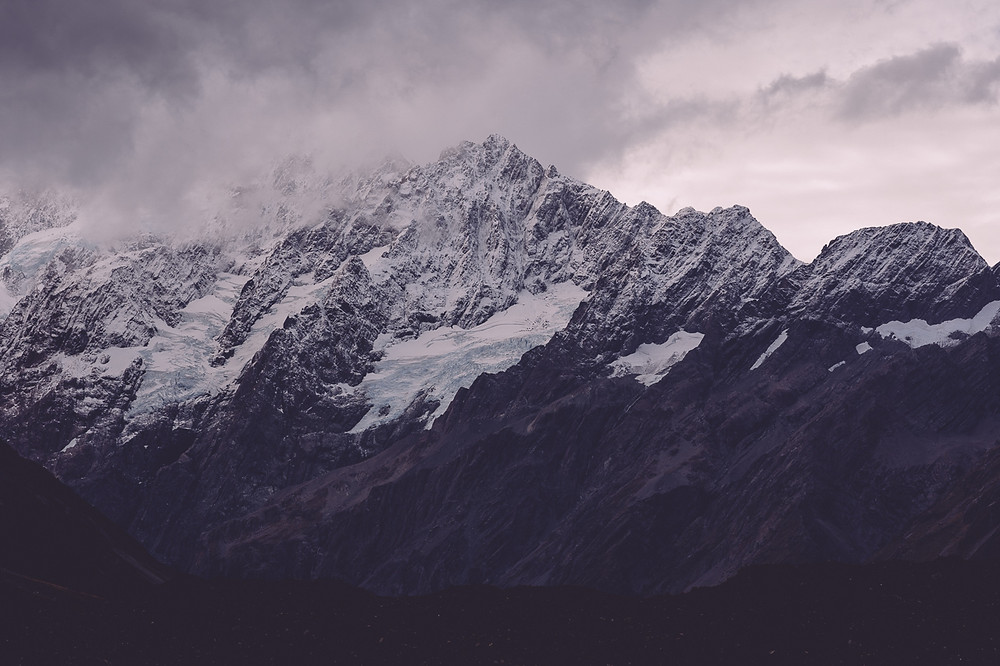 Stormy Mt Cook