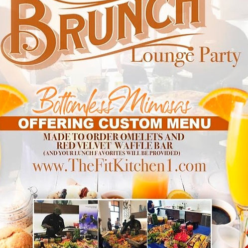 Brunch Lounge Party Bottomless Mimosas