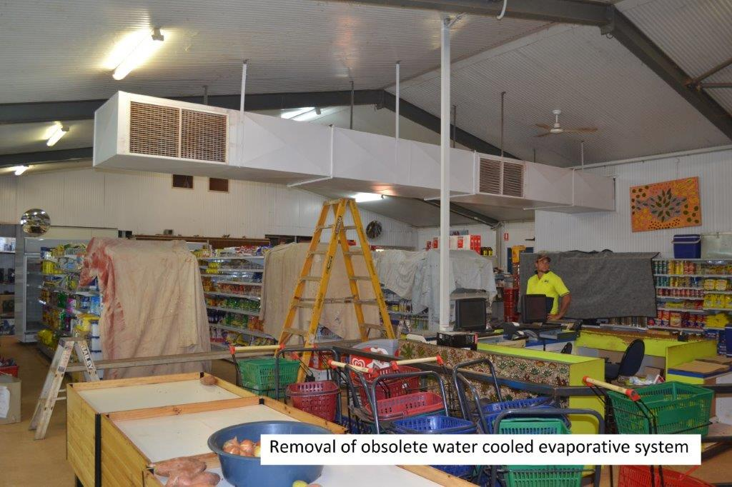 6 Community store refurbishment