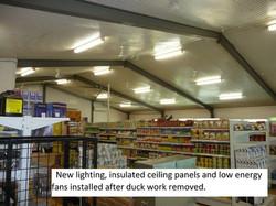 12 Community store refurbishment