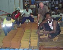 Making bricks with Dr-Steve