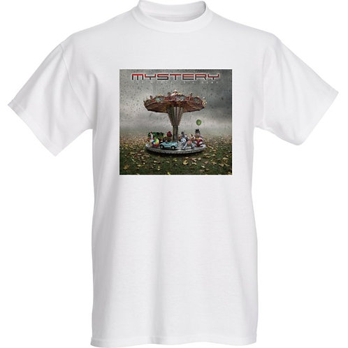 MYSTERY-The World is a Game Album cover White Tshirt