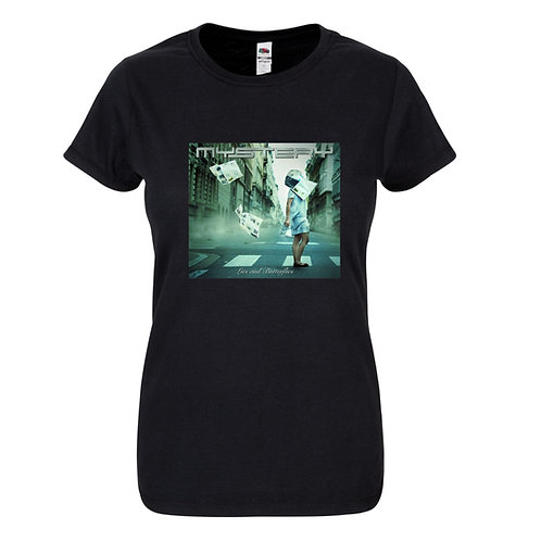 MYSTERY- Lies and Butterflies women Tshirt