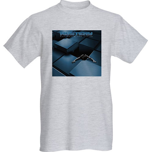 MYSTERY-One Among the Living Album cover Grey Tshirt