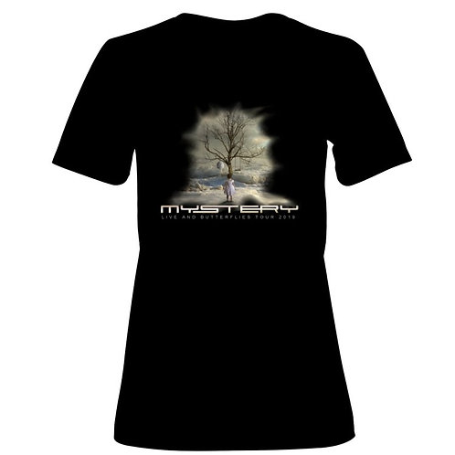 MYSTERY - Live and Butterflies 2019 Tour women Tshirt