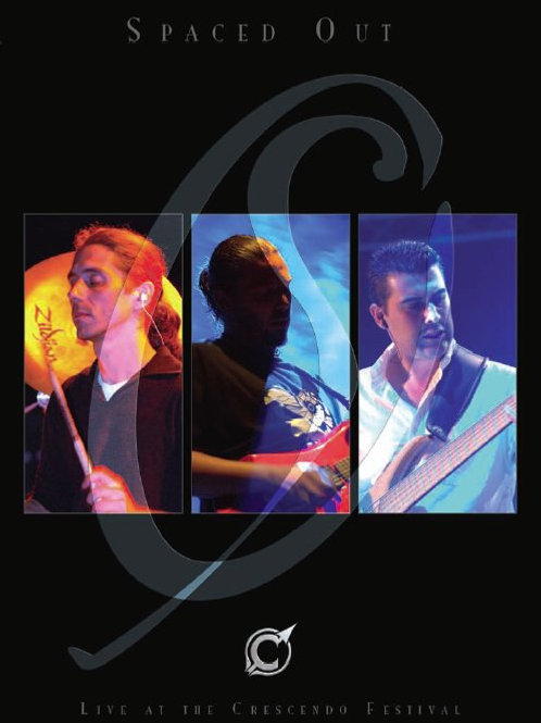 SPACED OUT - Live at the Crescendo Festival DVD