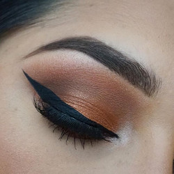 Loving the Morphe 35O Palette- such a good affordable go-to palette that easy to use for beginners b