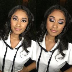 ✨_makeupbyvic_ ✨_Full Fashion Show Beatdown from Last Night 💄  #makeupbyvic #makeupartist #glambyvi