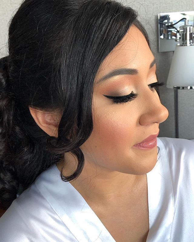 Timeless Bridal Beauty on yesterday's br