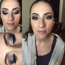 Some Birthday Glam by yours truley- those eyes are absolutley stunning! _wishing a very happy birthd