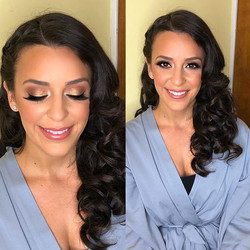 Bridesmaid Beauty ❤️❤️ _makeupbyvic_ #br