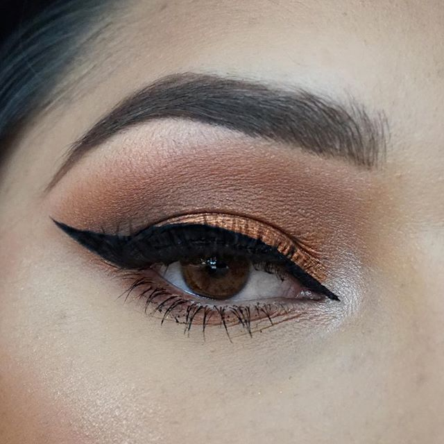 ✨Eyes✨ _Shadow_ _morphebrushes 35O palette_Liner_ _tartecosmetics • Clay Paint Liner__lashesbylena •