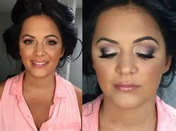 bridal glam- Makeup By Vic 💄✨ #makeupbyvic #bridesmaidmakeup #bridalparty #glamlife #smokeyeye