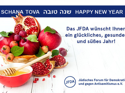 Shana Tova u'metuka! (Gutes und süßes neues Jahr)
