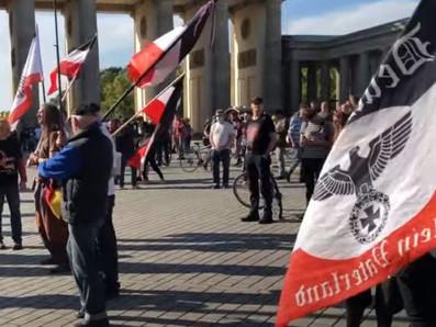 Zum Tag der Deutschen Einheit: rechtsoffene Kundgebungen am Brandenburger Tor