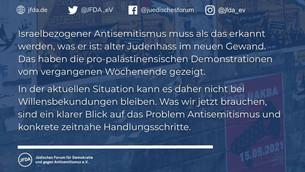 Eine antiisraelische Querfront? Blinde Flecken in der öffentlichen Wahrnehmung des Antisemitismus