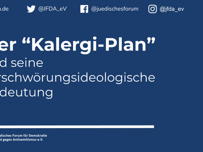 """Der """"Kalergi-Plan"""" und seine verschwörungsideologische Bedeutung"""