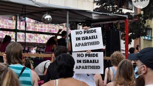 """Massive Behinderungen der Presse auf der """"International Queer Pride"""" in Berlin am 24. Juli 2021"""