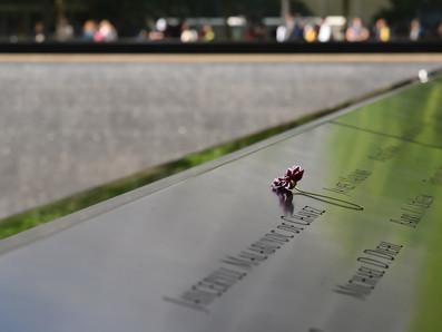 Im Gedenken an die Opfer der Terroranschläge am 11. September 2001