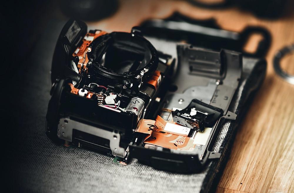 Camera Inside Parts