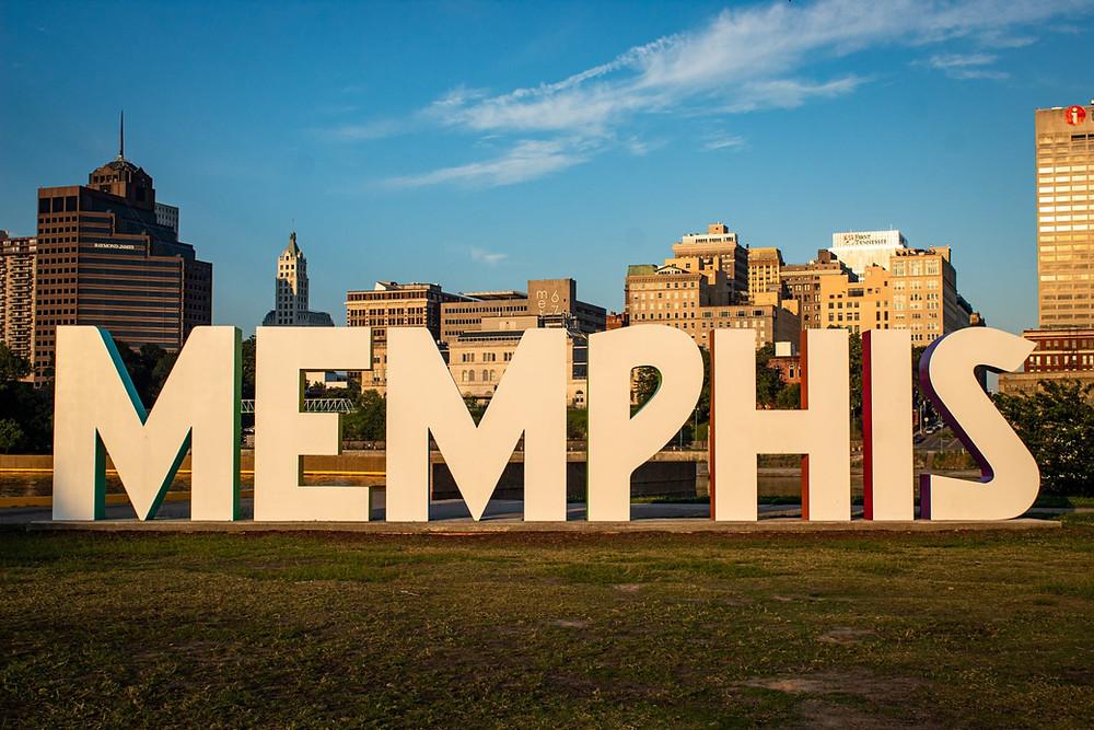 Memphis City Sign