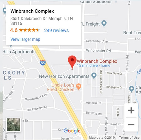 winbranch complex location map