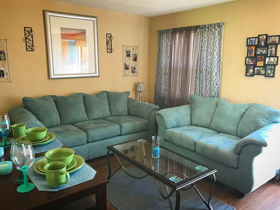 Thompson Court living room