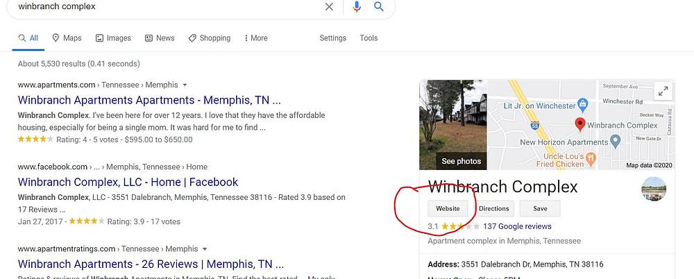 Apartmentsnearme.biz is the website of Winbranch Complex