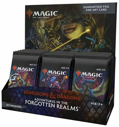 Magic the Gathering: Adventure in the Forgotten Realms - Set Booster