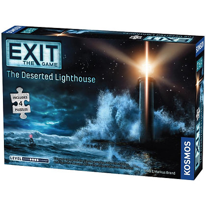 Exit The Game: The Deserted Lighthouse Jigsaw Adventure