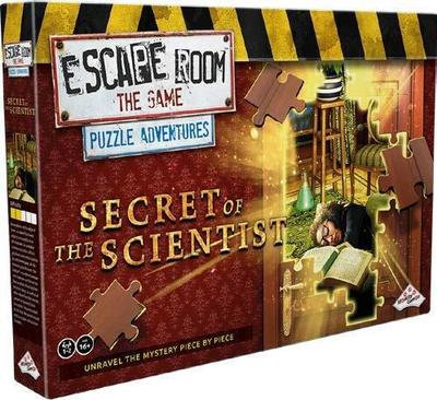 Escape Room The Game Jigsaw Puzzle: Secret of the Scientist