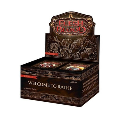 Flesh and Blood - Welcome to Wrathe Booster Box