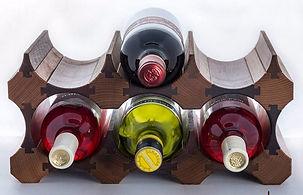 Держатели для вина. Мебель из Сербии
