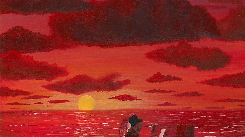 'Malibu' Poster/Wallpaper