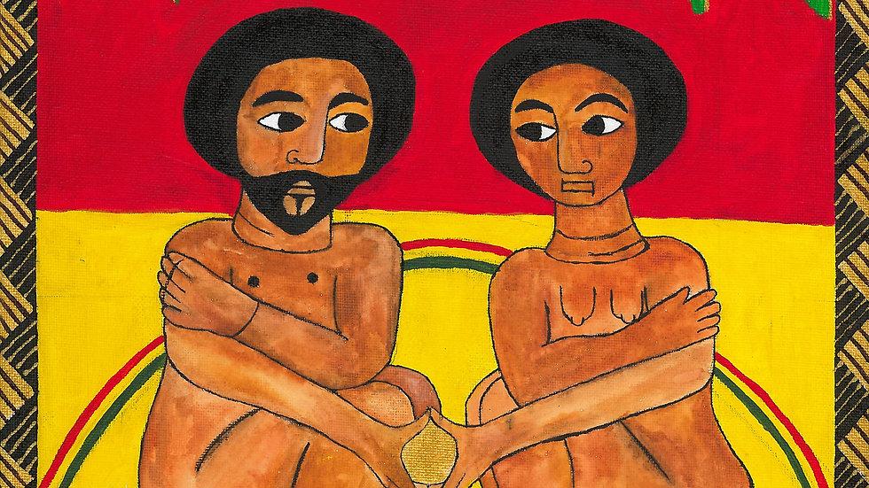 'Adam & Eve' Poster/Wallpaper