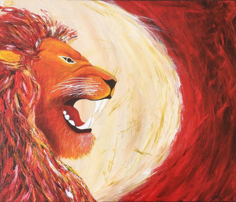 ALL EVIL MUST YIELD WHEN THE LION ROARS