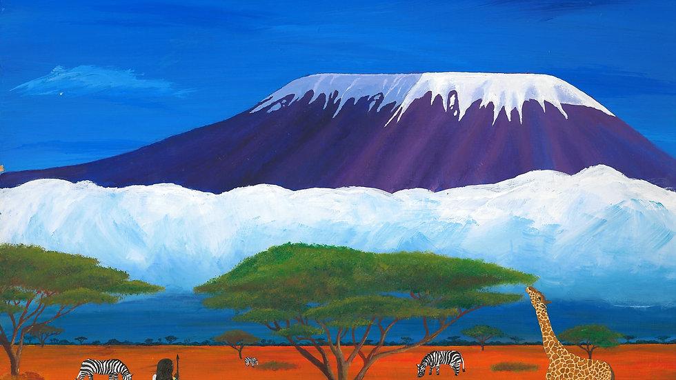 'Kilimanjaro' Poster/Wallpaper
