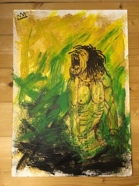 CONQUERING LION OF JUDAH