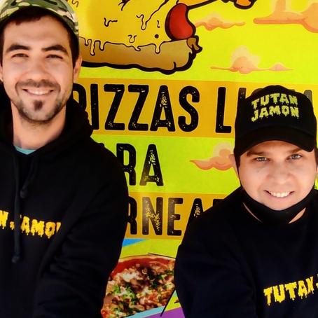 Dos amigos que emprendieron y revolucionaron la forma de comer pizza en Neuquén
