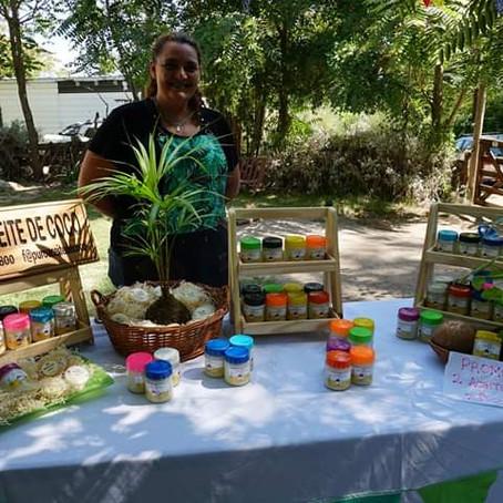 Una caricia para el medio ambiente, Mariana y el coco como proyecto.